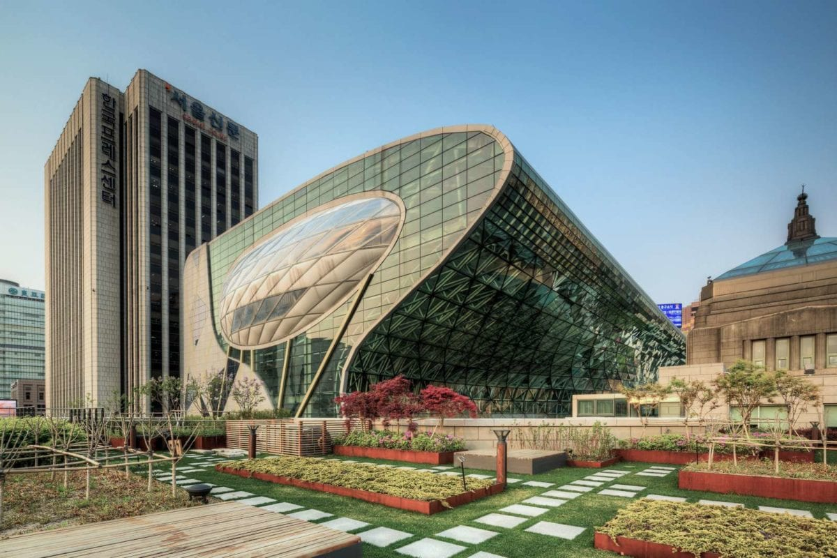 10 most impressive modern architecture in korea 10 for New modern architecture