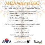 ANZA Autumn BBQ 2014