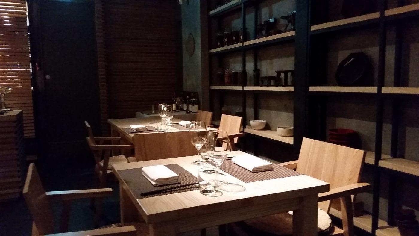 Creative modern korean cuisine at mingles restaurant in