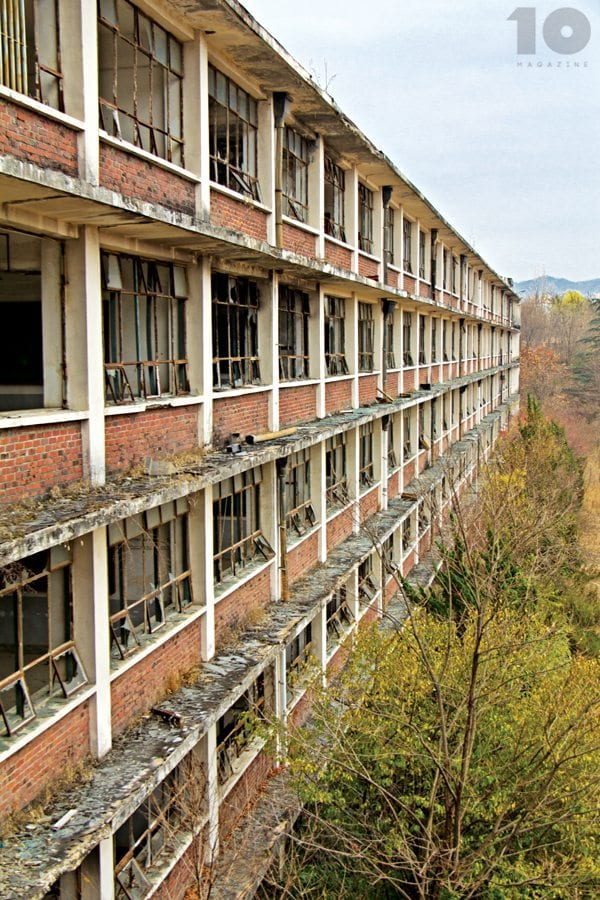Urban Exploration Korea - Abandoned school