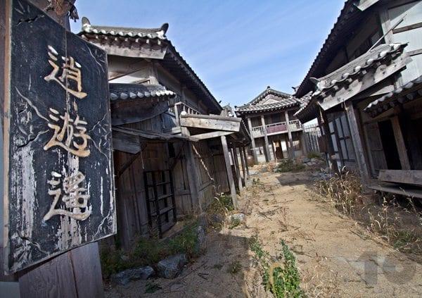 Urban Exploration Korea - Abandoned movie set