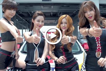 Korean racing model