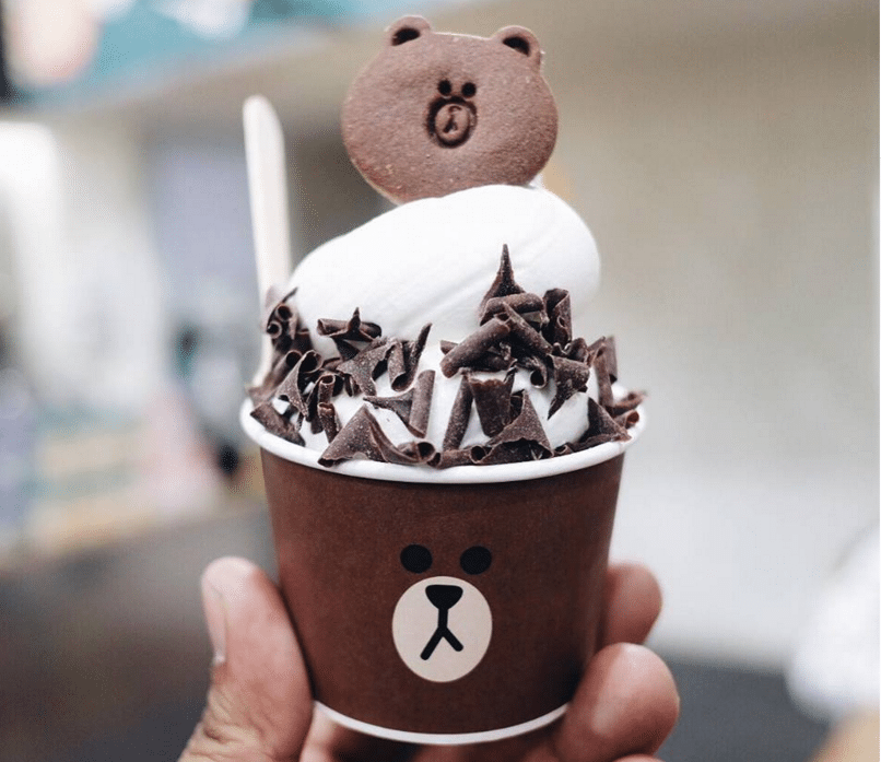 Themed Cafes in Seoul line friends cafe