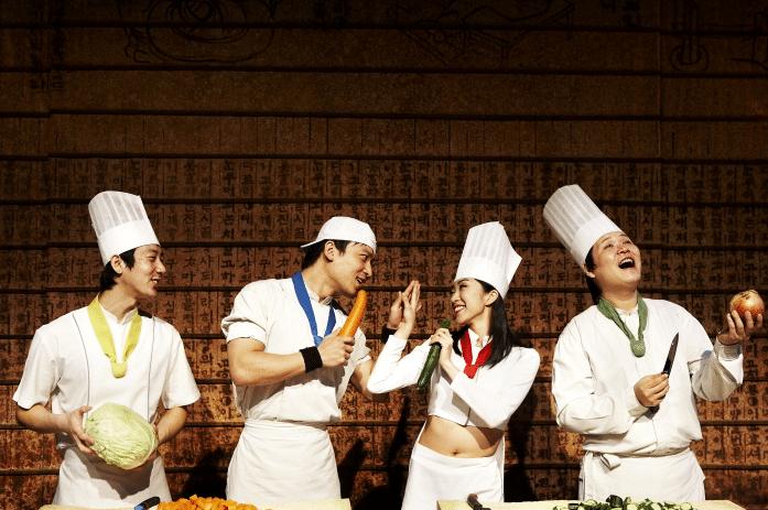 non verbal korean stage show