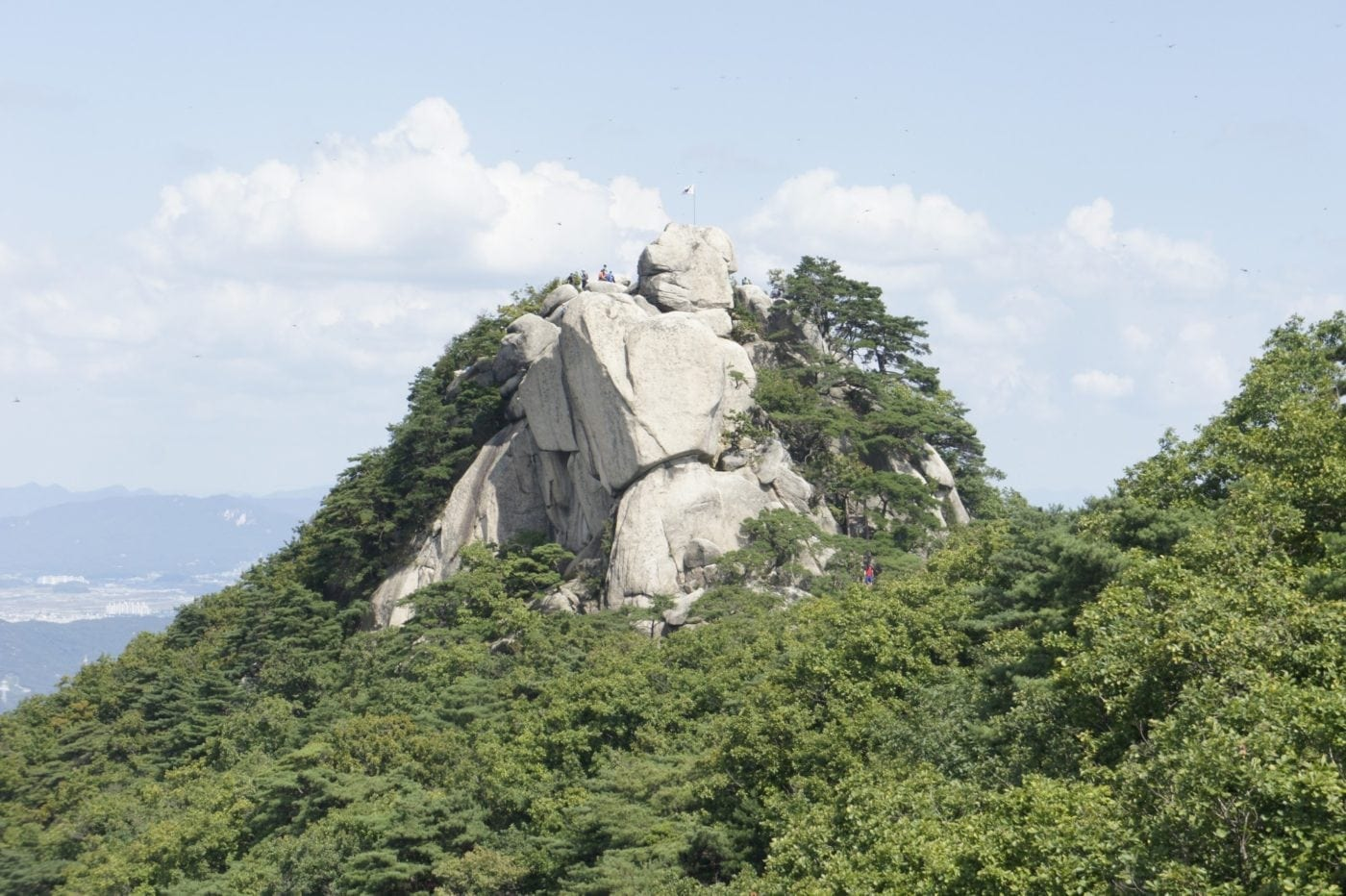 mountains seoul
