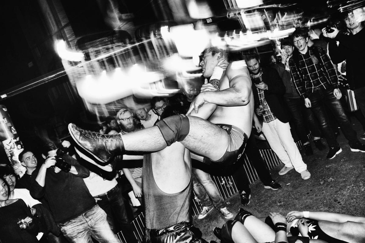 backyard wrestling in the streets of korea 10 magazine korea