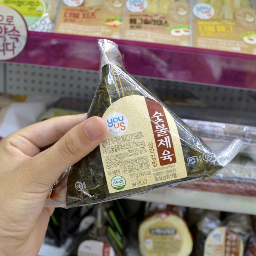 korean convenience stores kimbab