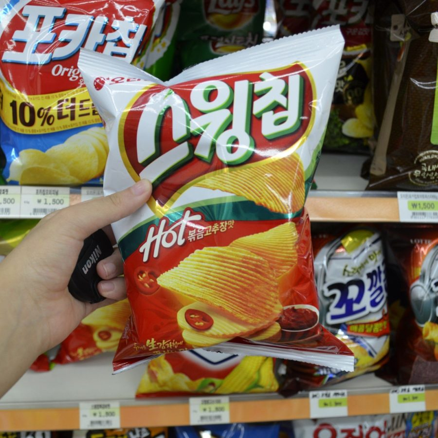 korean convenience stores chips