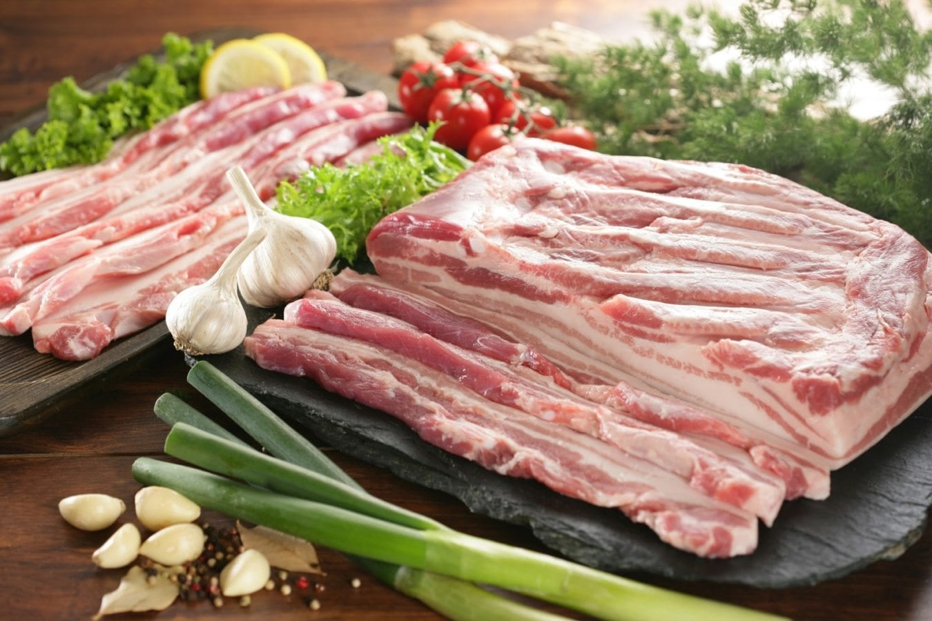 what to eat with soju samgyeopsal