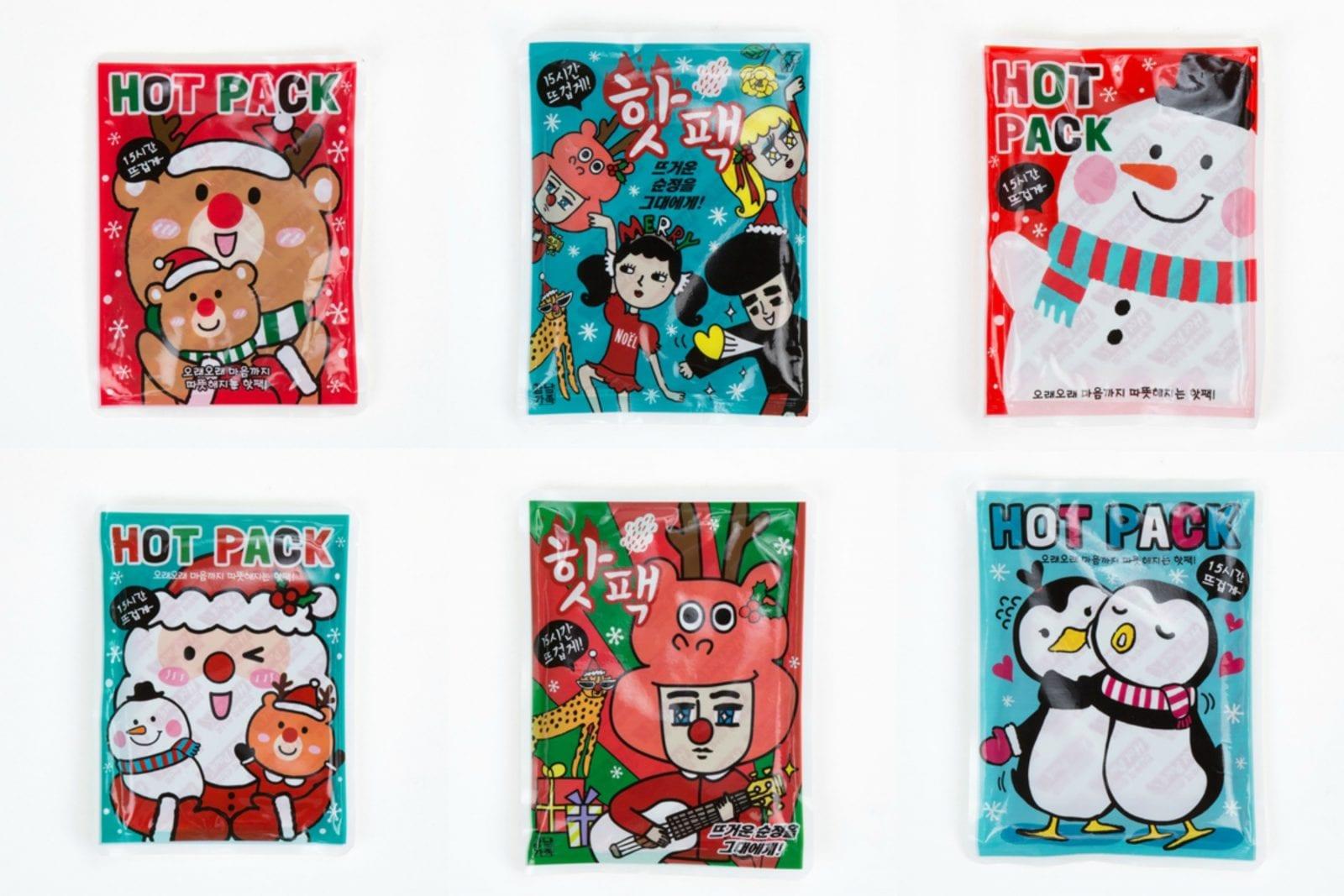 Korean Grocery Tips ArtBox Hot Packs
