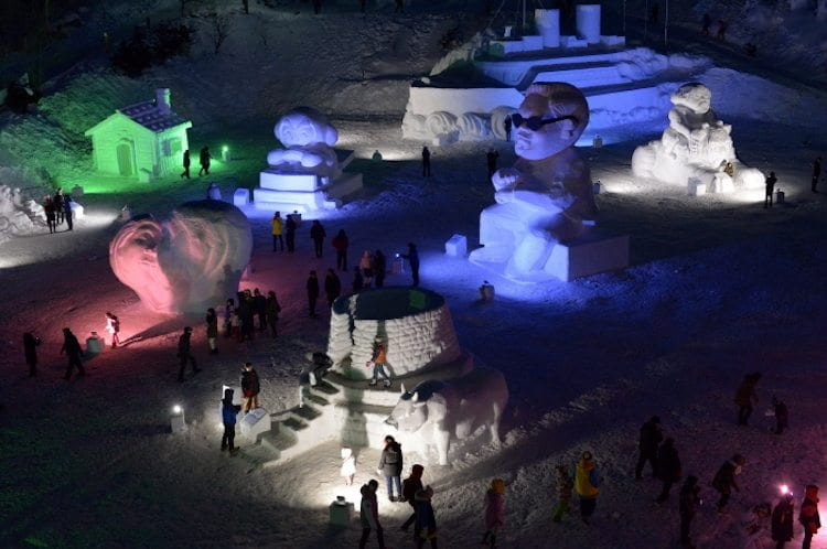 winter in South Korea Activities Things to Do Taebaksan KTO