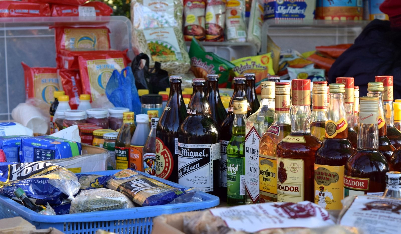 filipino market in seoul beer booze