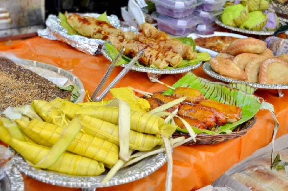 filipino market in seoul hyehwa daehangno rice cakes