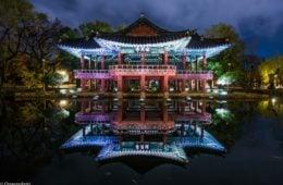 Gwanghallu_Pavilion_at_Night-_Namwon