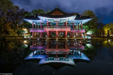 Gwanghallu_Pavilion_at_Night-_Namwon