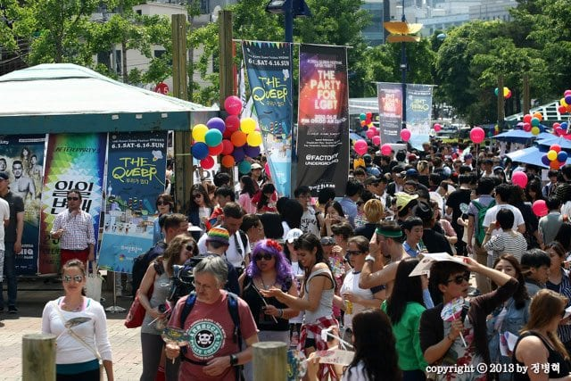 LGBTQ community in korea