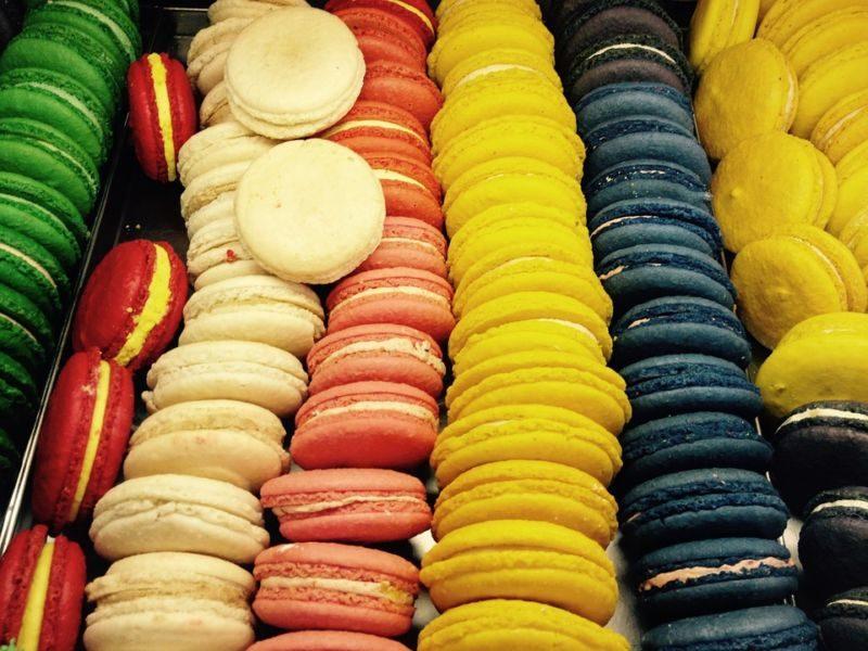 Korean Street Desserts macarons