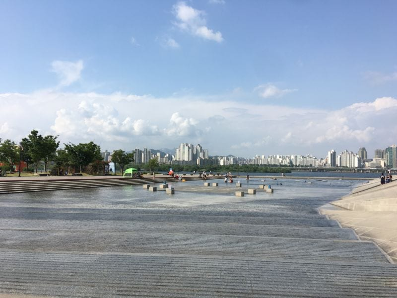 unforgettable day at han river Yeouido Hangang Park