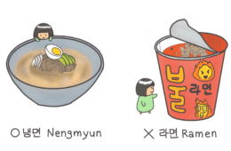 Nengmyun vs Ramen