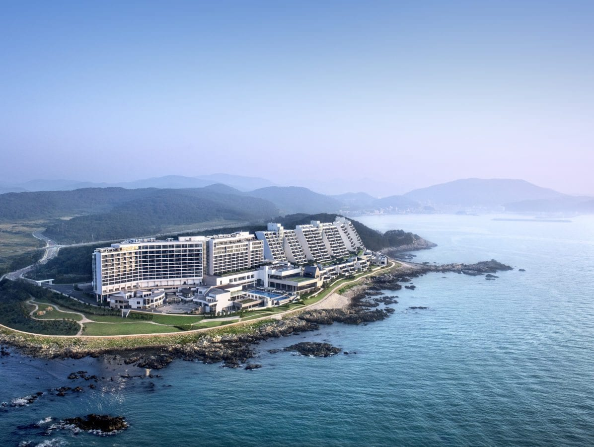 Busan's Hottest New Resort oceanfront