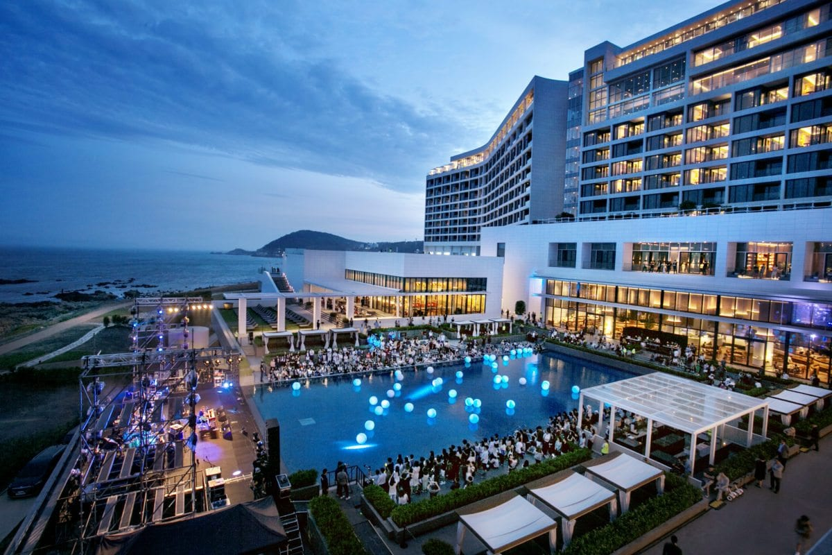 Busan's Hottest New Resort outdoor events