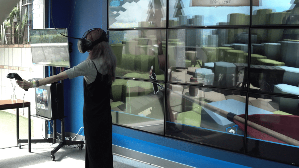 virtual reality gangnam VR cafe