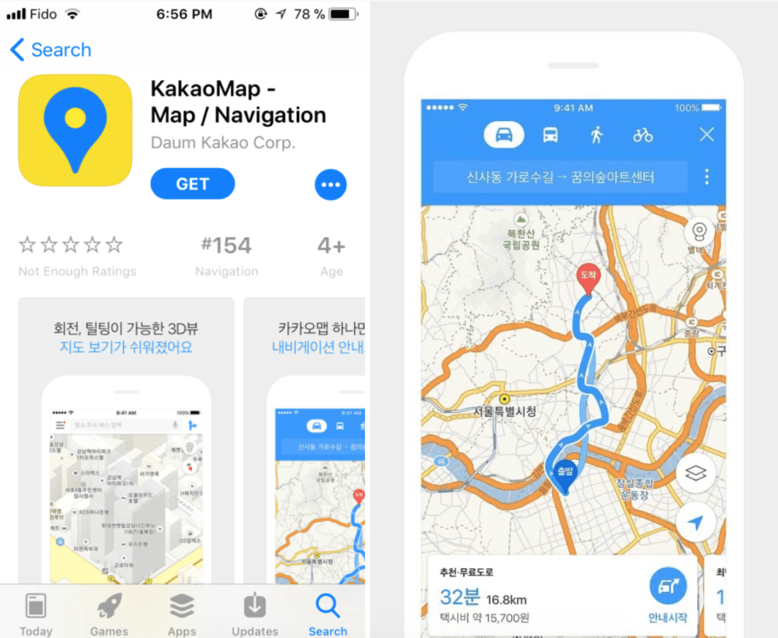 How to Navigate Your Way Through Seoul kakao map