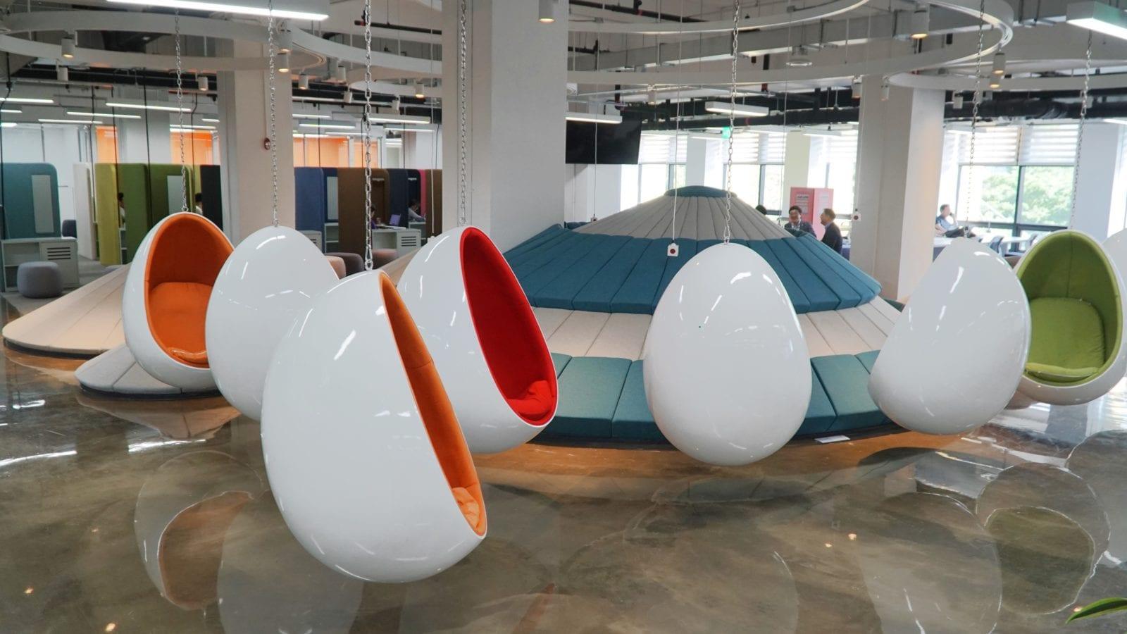 Septième arrêt : Une touche colorée - Seoul Startup Hub