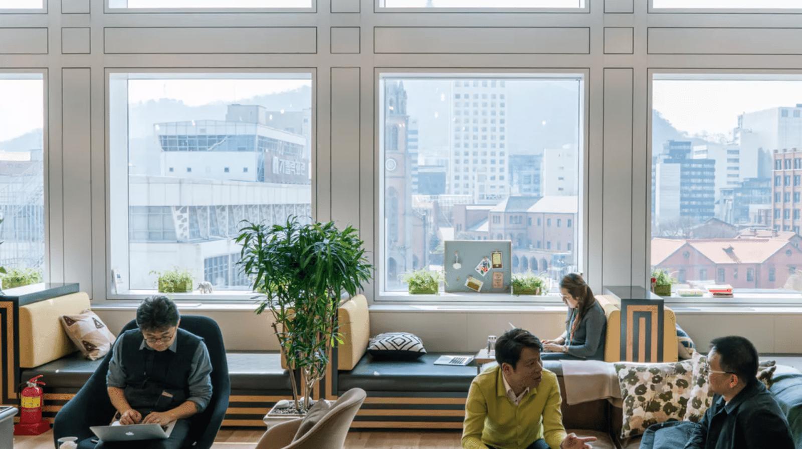 coworking spaces seoul wework