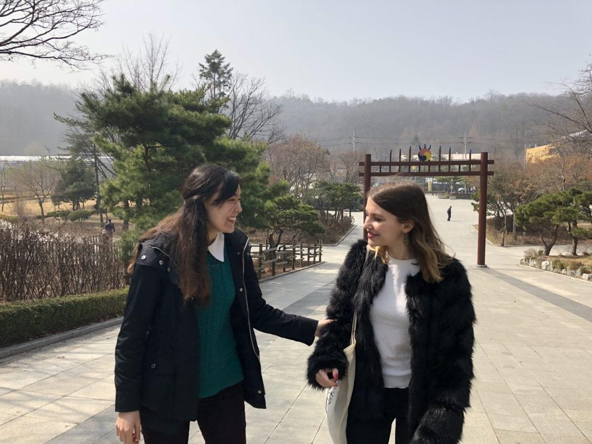 Korea Women Buddhism Nakseongdae
