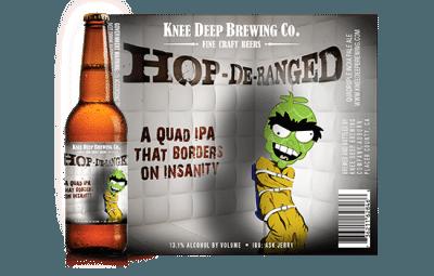 HOP-DE RANGE Quad IPA Knee Deep Brewing Craft Beer Summer Korea