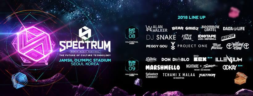 10 Things to Do in Seoul this September 2018 Spectrum Dance Music Festival